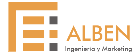 Logo ALBEN Ingeniería y Marketing