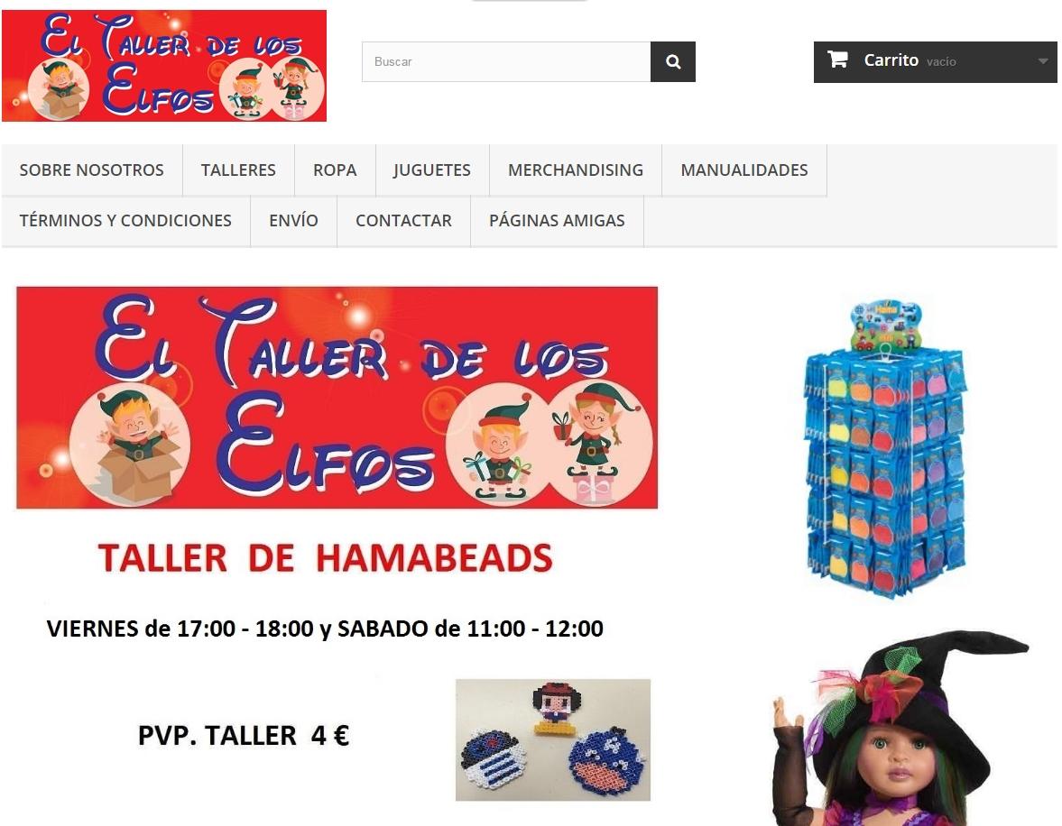 El Taller de los Elfos juguetería en Gijón